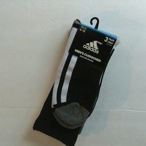 Other - Adidas Cushioned Socks